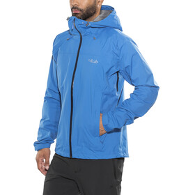 Rab Downpour Plus Jas Heren blauw